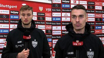 Die Interviews nach dem Match gegen die Hertha