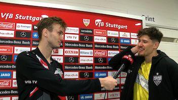 Die Interviews nach dem Heimspiel gegen Schalke