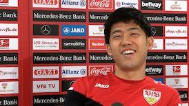 Der VfB Doppelpacker vom Schalke-Spiel: Wataru Endo