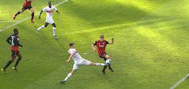 2. Halbzeit: Eintracht Frankfurt - VfB Stuttgart