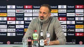 Pressekonferenz: Eintracht Frankfurt - VfB Stuttgart