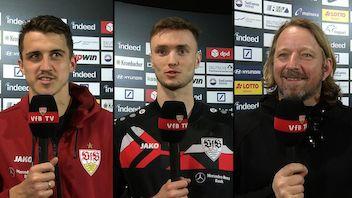 Die Interviews nach dem Auswärtsspiel bei Eintracht Frankfurt