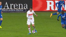 1. Halbzeit: VfB Stuttgart - TSG Hoffenheim