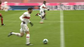 1. Halbzeit: FC Bayern München - VfB Stuttgart