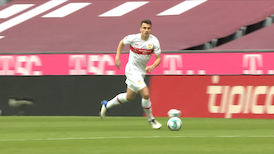 2. Halbzeit: FC Bayern München - VfB Stuttgart