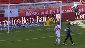 1. Halbzeit: VfB Stuttgart - SV Werder Bremen