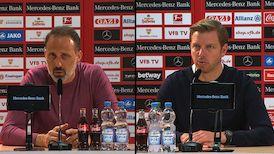 Pressekonferenzen: VfB Stuttgart - SV Werder Bremen