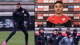 VfB Verteidiger Konstantinos Mavropanos