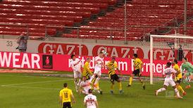 2. Halbzeit: VfB Stuttgart - Borussia Dortmund