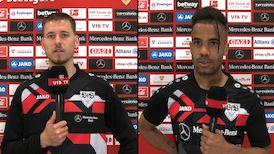 Die Interviews nach dem Heimspiel gegen den BVB