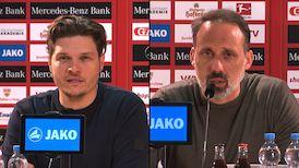 Pressekonferenzen: VfB Stuttgart - Borussia Dortmund