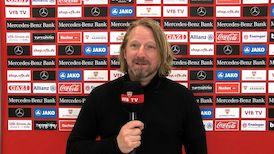 Sven Mislintat nach dem Duell VfB gegen BVB