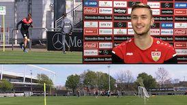 VfB Stürmer Sasa Kalajdzic