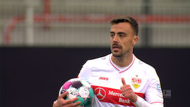 2. Halbzeit: 1. FC Union Berlin - VfB Stuttgart