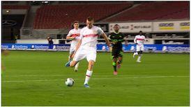 1. Halbzeit: VfB Stuttgart - VfL Wolfsburg