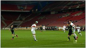 2. Halbzeit: VfB Stuttgart - VfL Wolfsburg