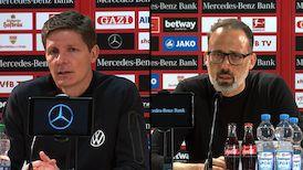 Pressekonferenzen: VfB Stuttgart - VfL Wolfsburg