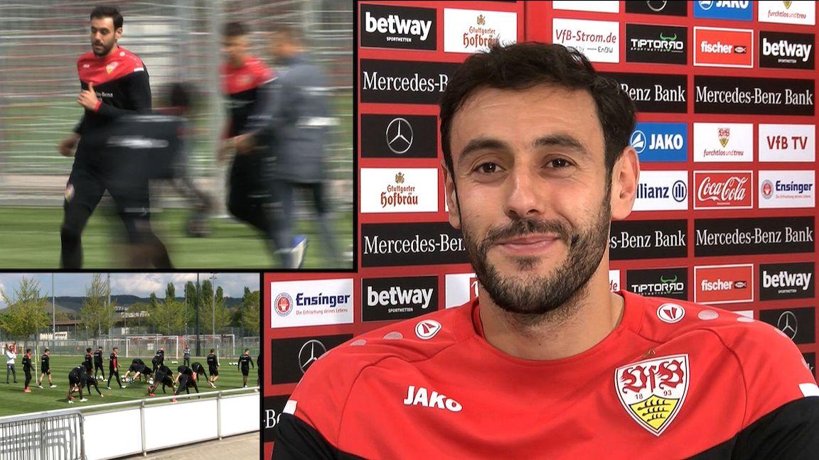 Trainingsstart vor Augsburg: Hamadi Al Ghaddioui