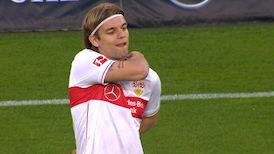 1. Halbzeit: VfB Stuttgart - FC Augsburg