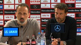 Pressekonferenzen: VfB Stuttgart - FC Augsburg