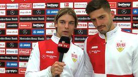 Die Interviews nach dem Heimspiel gegen den FC Augsburg
