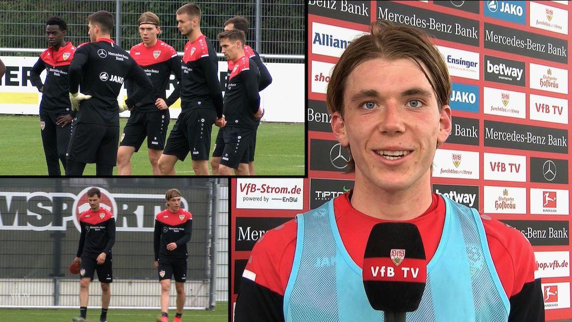 Bundesliga-Premiere: Luca Mack