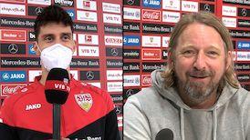 Die Interviews am Tag nach dem letzten Auswärtsspiel 20/21