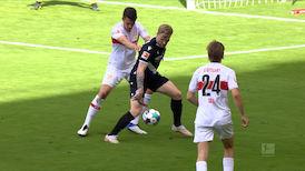 2. Halbzeit: VfB Stuttgart - DSC Arminia Bielefeld