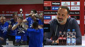 Pressekonferenzen: VfB Stuttgart - Arminia Bielefeld