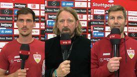 Die Interviews nach dem Spiel gegen Arminia Bielefeld