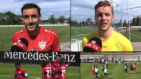 Die Interviews zum Testspiel gegen den FC St. Gallen