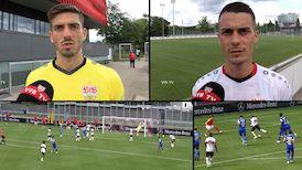 Die Interviews zum Testspiel gegen den SV Darmstadt 98
