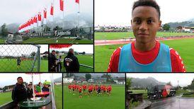 Der Trainingslager-Auftakt in Kitzbühel mit Roberto Massimo
