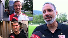 Die Interviews nach dem Blitzturnier gegen der FC Liverpool und Wacker Innsbruck
