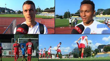 Die Interviews nach dem Testspiel gegen Arminia Bielefeld