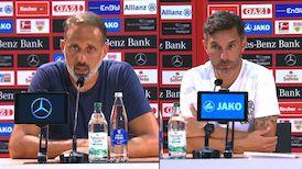 Pressekonferenzen: VfB Stuttgart - SpVgg Greuther Fürth