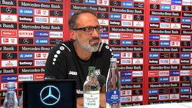 Die VfB-Pressekonferenz vor dem Spiel in Leipzig