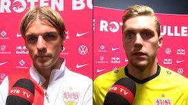Die Interviews nach dem Spiel in Leipzig