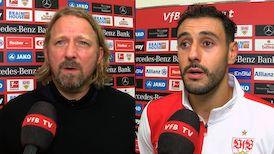 Die Interviews nach dem Spiel gegen den SC Freiburg