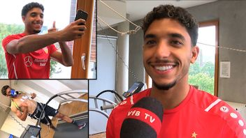 VfB-Neuzugang Omar Marmoush im Interview