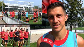 Vorbereitung auf Eintracht Frankfurt: Marc Oliver Kempf