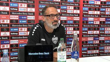 Die PK mit Cheftrainer Pellegrino Matarazzo