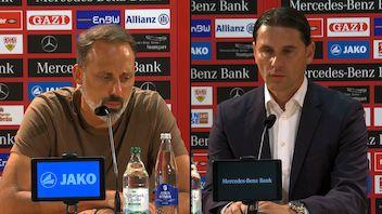 Pressekonferenzen: VfB Stuttgart - Bayer 04 Leverkusen