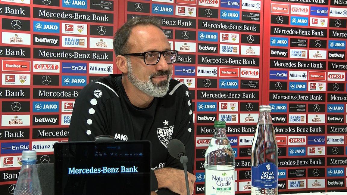 Die VfB-PK vor dem Spiel beim VfL Bochum