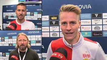Die Interviews nach dem Spiel beim VfL Bochum