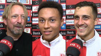 Die Interviews nach dem Heimspiel gegen die TSG Hoffenheim
