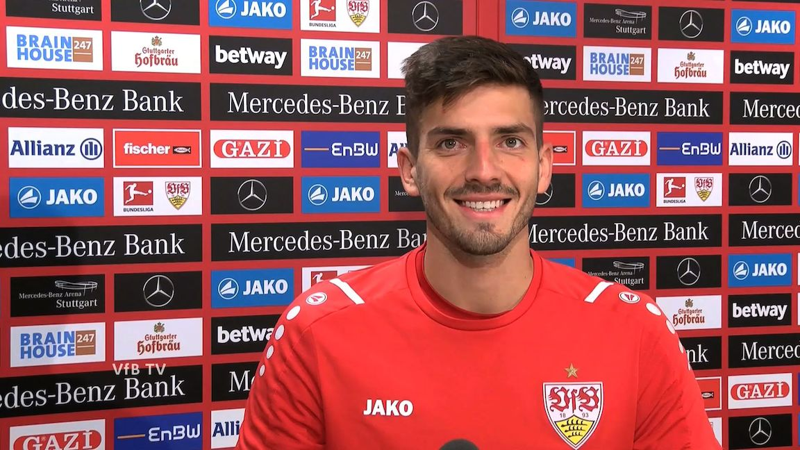 Fabian Bredlow nach dem Spiel bei Borussia M'gladbach